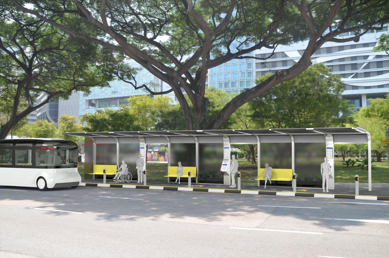 Bus Stop Design For Autonomous Public Transport